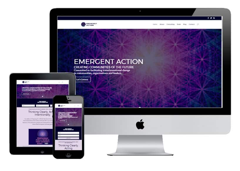 Emergent Action WordPress Divi: New Design