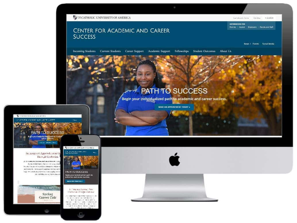 Center For Academic & Career Success Website