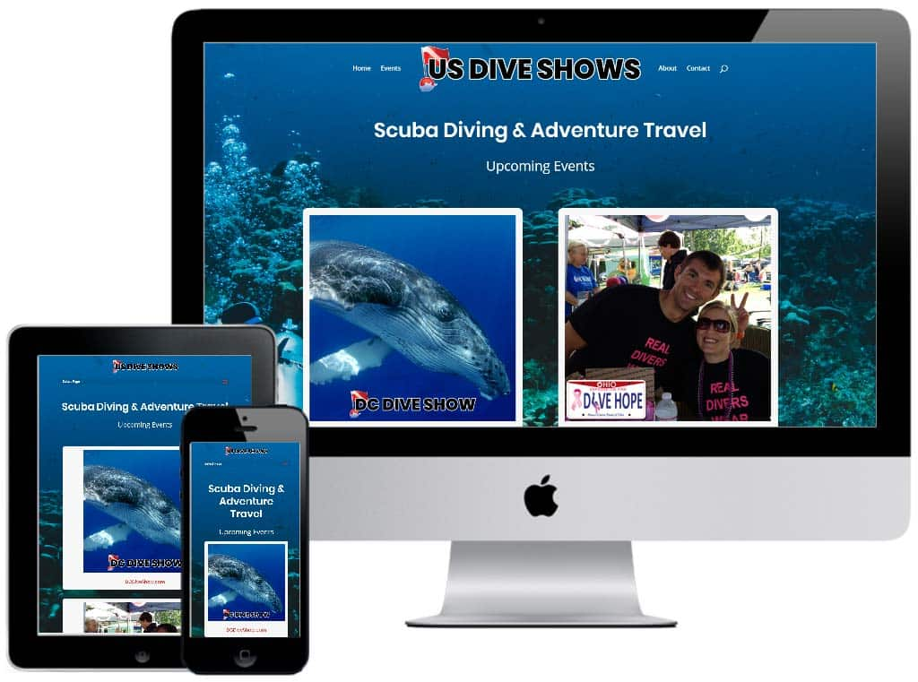 US Dive Show Website