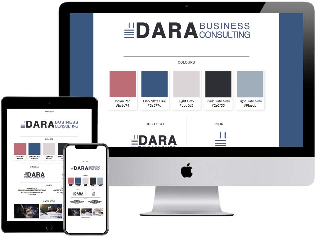 Dara Biz Brand Guide